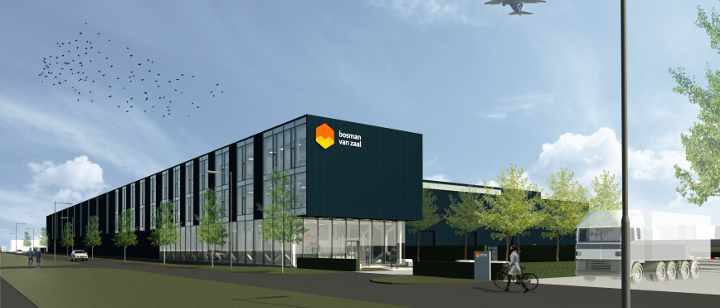 A new state of the art headquarter for Bosman Van Zaal