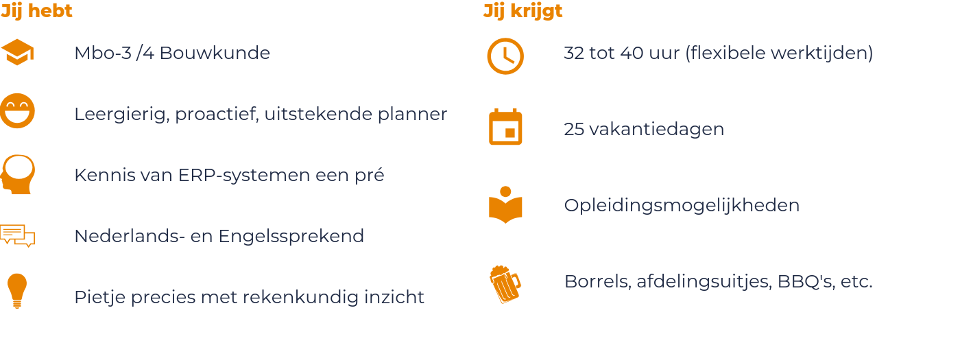 Vacature Project Planner